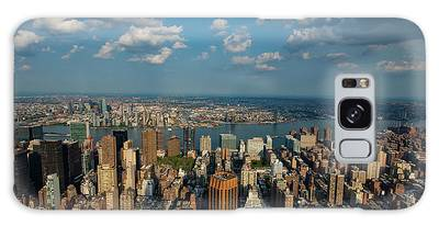 New York Skyline Empire State Galaxy Case