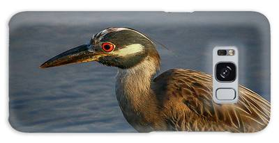Galaxy Case featuring the photograph Night Heron Portrait by Tom Claud