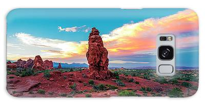 Not Just About Arches... Galaxy Case