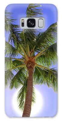 Palm Tree Sun Galaxy Case by Patti Deters