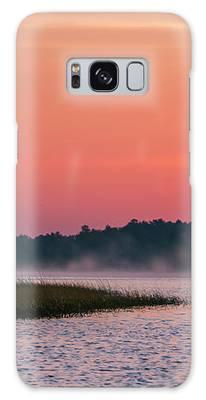 Pelican Mist Galaxy Case by Patti Deters