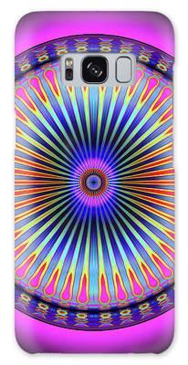 Pink Circus Sun  Galaxy Case by Visual Artist Frank Bonilla