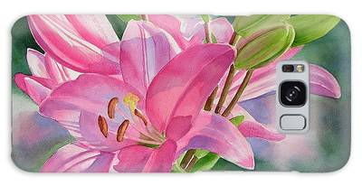 Asiatic Lily Galaxy Cases