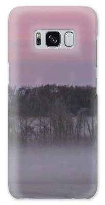 Pink Misty Morning #1 - Winter Fog Galaxy Case by Patti Deters