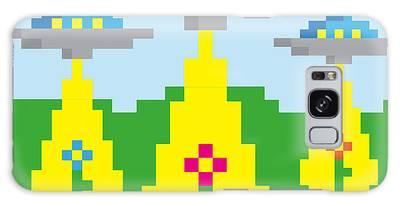Pixelart Galaxy Cases