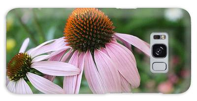 Purple Coneflower Pair Galaxy Case