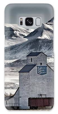 Galaxy Case featuring the photograph Ranchland Elevator by Brad Allen Fine Art