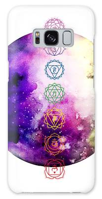 Galaxy Case featuring the digital art Reach Out To The Stars by Bee-Bee Deigner