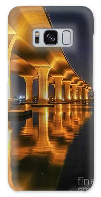 Galaxy Case featuring the photograph Roosevelt Bridge Portrait by Tom Claud
