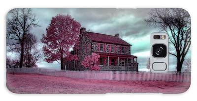 Rose Farm In Infrared Galaxy Case