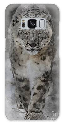 Galaxy Case featuring the photograph Snow Leopard II by Brad Allen Fine Art