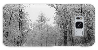 Snow Trail Galaxy Case
