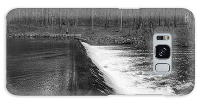 Spillway At Waterloo Village Galaxy Case