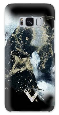 Galaxy Case featuring the digital art Spirit Animal by Bee-Bee Deigner