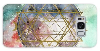 Galaxy Case featuring the digital art Starchild by Bee-Bee Deigner