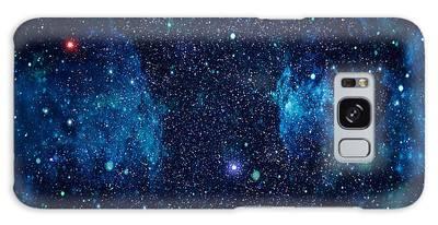 Majestic Digital Art Galaxy Cases