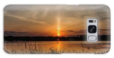 Sun Pillar Galaxy Case
