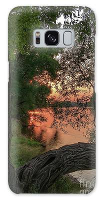 Sunset On The Mississippi Galaxy Case