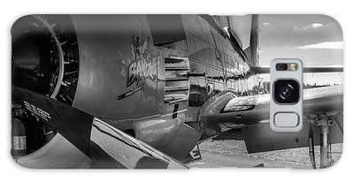 T-28b Trojan In Bw Galaxy Case