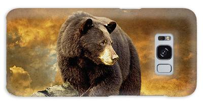 The Bear Went Over The Mountain Galaxy Case