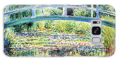 The Water Lily Pond By Monet Galaxy Case