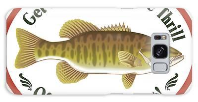 Bass Fishing Galaxy Cases