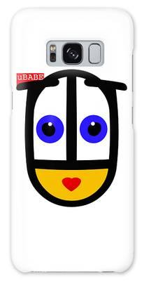 uBABE Logo Galaxy Case