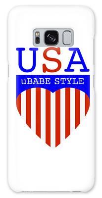 Ubabe Style America Galaxy Case
