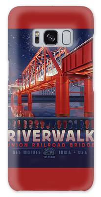 Union Railroad Bridge - Riverwalk Galaxy Case