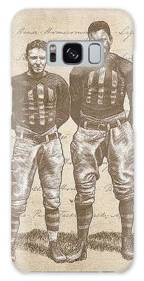 Vintage Football Heroes Galaxy Case
