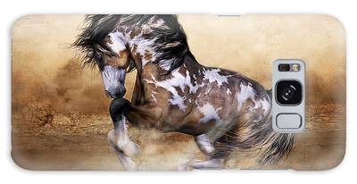 Wild And Free Horse Art Galaxy Case