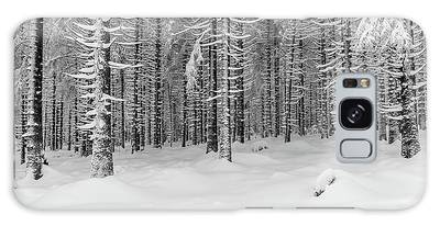 winter forest, Harz Galaxy Case