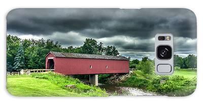 Zumbrota Bridge Thunder Galaxy Case