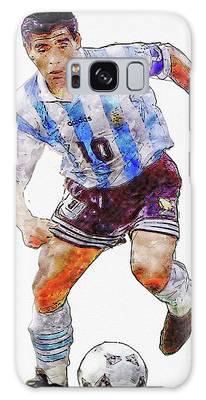 Diego Maradona Galaxy Cases Pixels