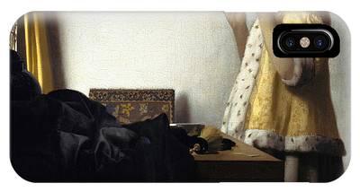 Johannes Vermeer Phone Cases