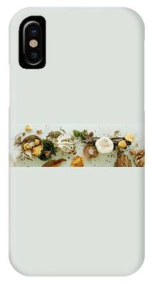 An Assortment Of Mushrooms IPhone Case