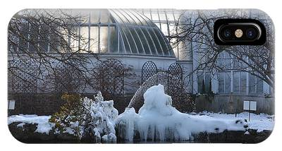 Belle Isle Conservatory Pond 2 IPhone Case