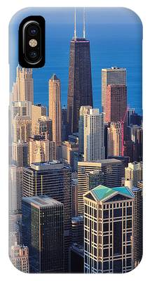 Chicago Aerial View IPhone Case