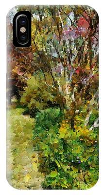 Colourful Garden IPhone Case