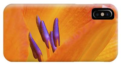 IPhone Case featuring the photograph Day Lily  2 by Richard J Thompson
