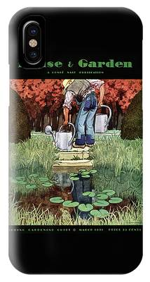 House And Garden Spring Gardening Guide Cover IPhone Case