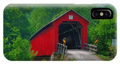 Hune Covered Bridge IPhone Case