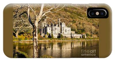 Kylemore Abbey In Winter IPhone Case