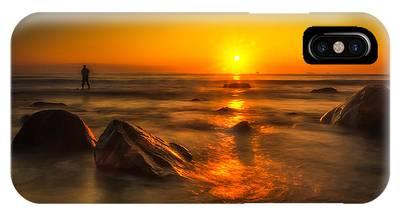 Montauk New York Summer Sunrise IPhone Case
