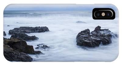 Moonstone Beach Surf 1 IPhone Case