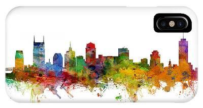 Nashville Skyline Phone Cases