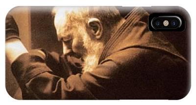 Padre Pio Phone Cases
