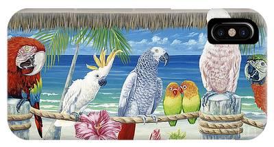 Macaw Phone Cases