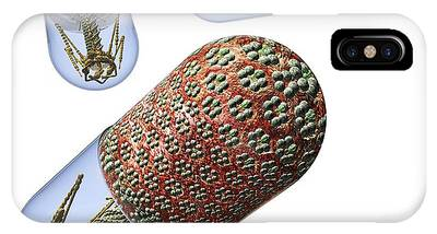 Bacteriophage Phone Cases