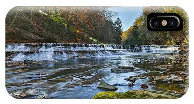 Squaw Rock - Chagrin River Falls IPhone Case